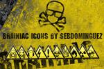 BRAINIAC icons