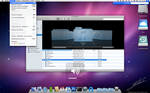 Mac OS X Leopard interface PSD