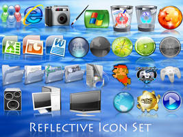 Reflective Icon Set 3 by LiquidsnakE4