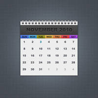 Freebie 01: Calendar by MH-Design