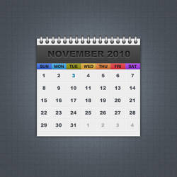 Freebie 01: Calendar by MH-Design
