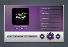 Freebie 05: Music Player by MH-Design
