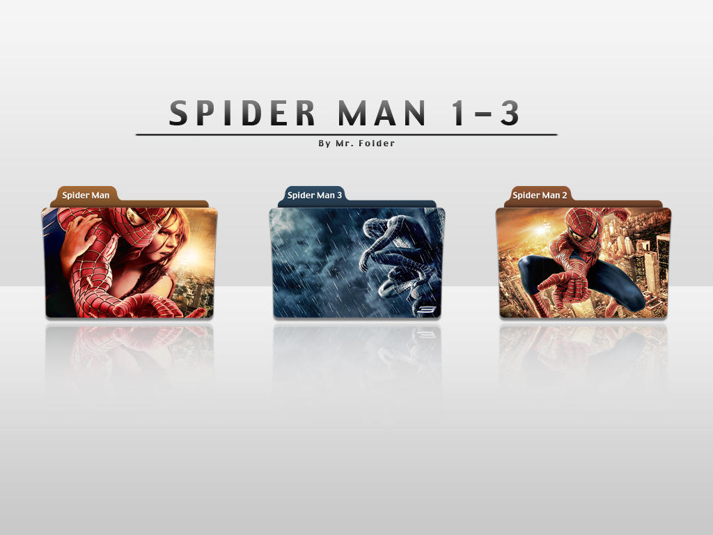 Movie Folder Spider Man 1-3 by MrFolder