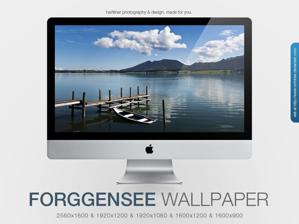 Forggensee Wallpaper by MrFolder