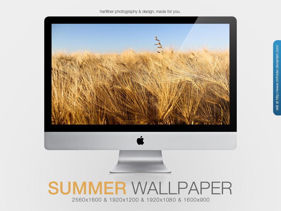 Summer Wallpaper by MrFolder