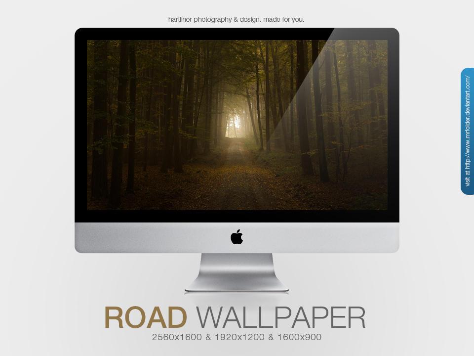 The Road Wallpaper by MrFolder