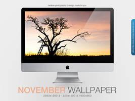 November Wallpaper by MrFolder