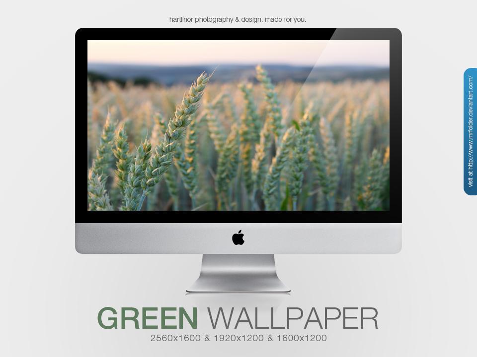 Green Wallpaper by MrFolder