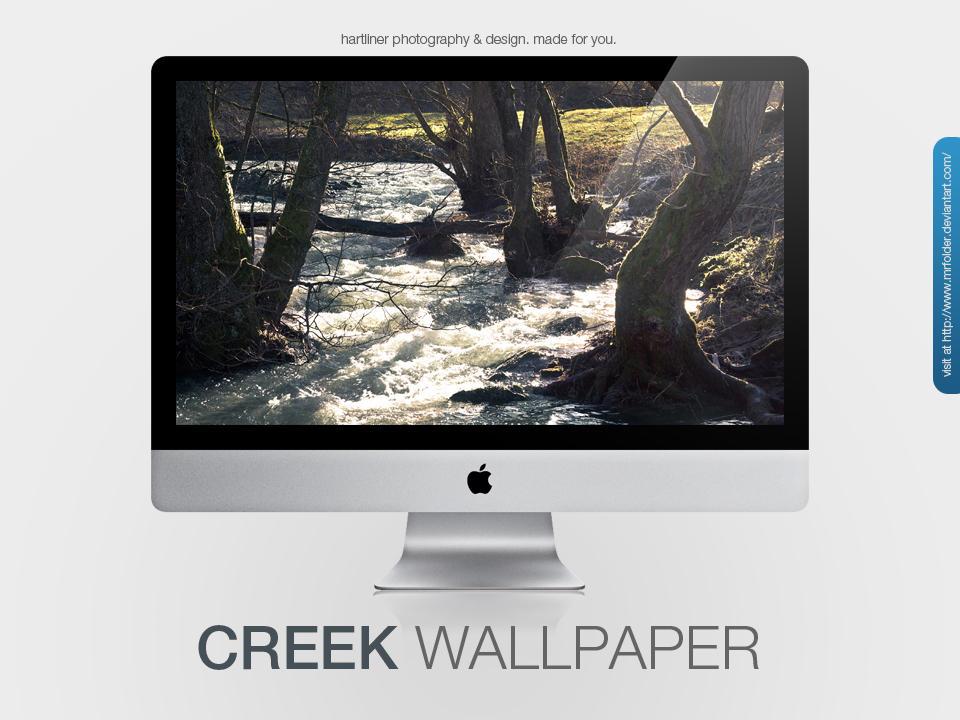 Creek Wallpaper by MrFolder