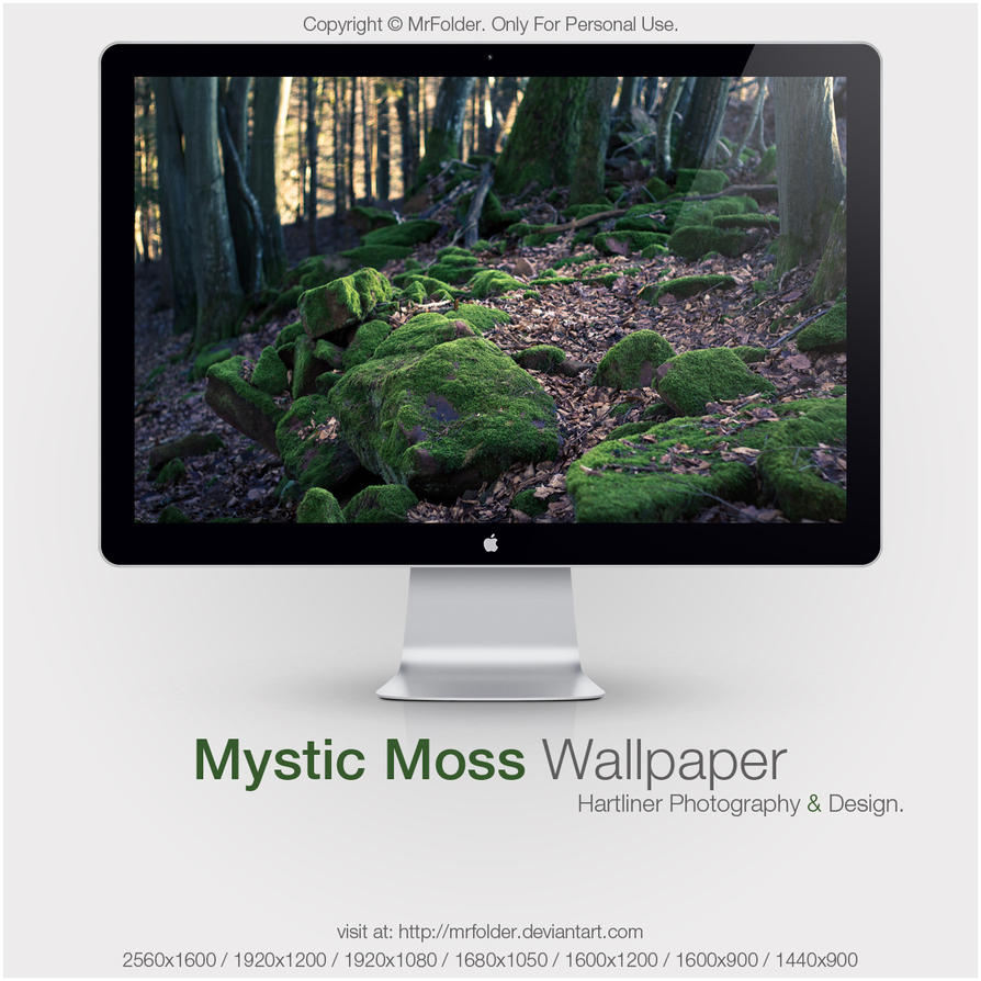Mystic Moss Wallpaper by MrFolder