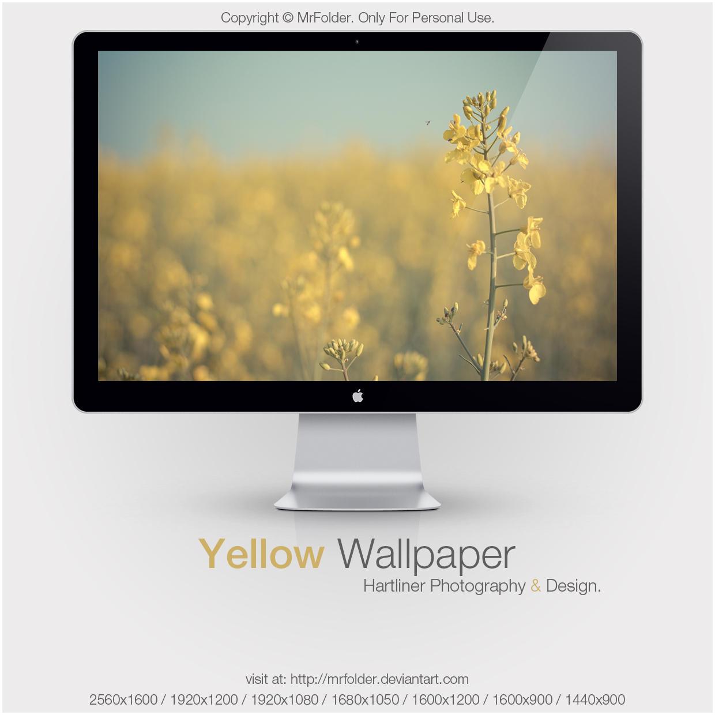 Yellow Wallpaper by MrFolder