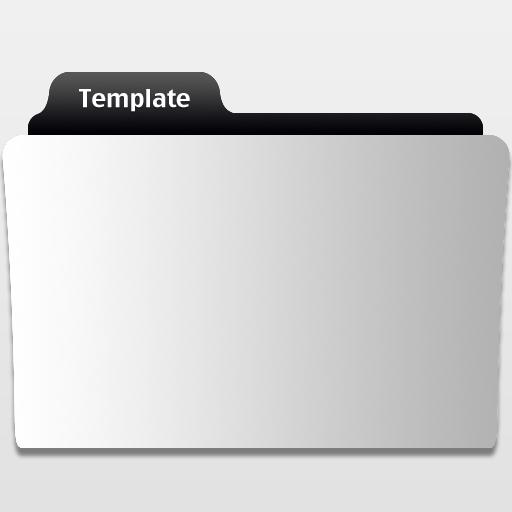 Movie Folder Template by MrFolder