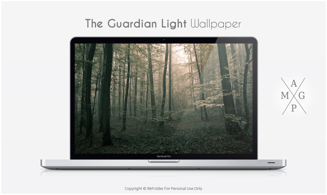 The Guardian Light Wallpaper by MrFolder