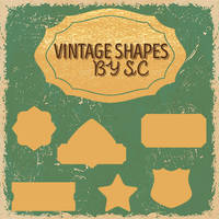 Vintage Shapes by SC by BellLeg