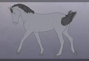 Horse Fullbody 001 - F2U