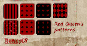 Red Queen's patterns