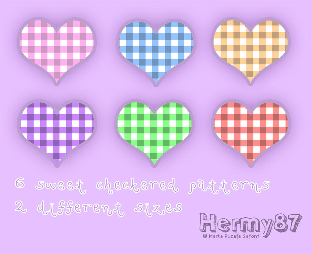 Sweet checkered patterns by Hermy87