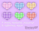 Sweet checkered patterns