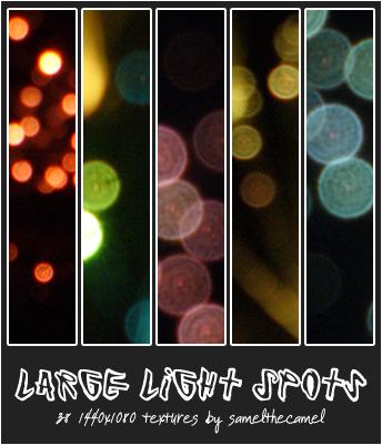 Large Light Spot Textures by samelthecamel