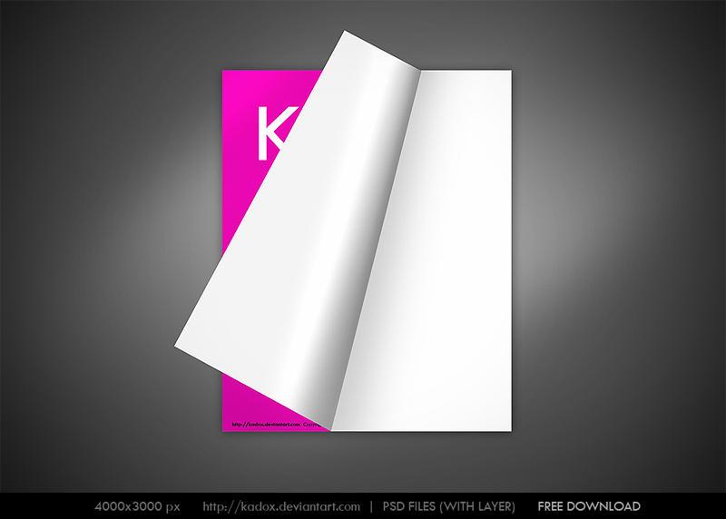 magazine page flip PSD 4000px-evindelisi.com by kadox