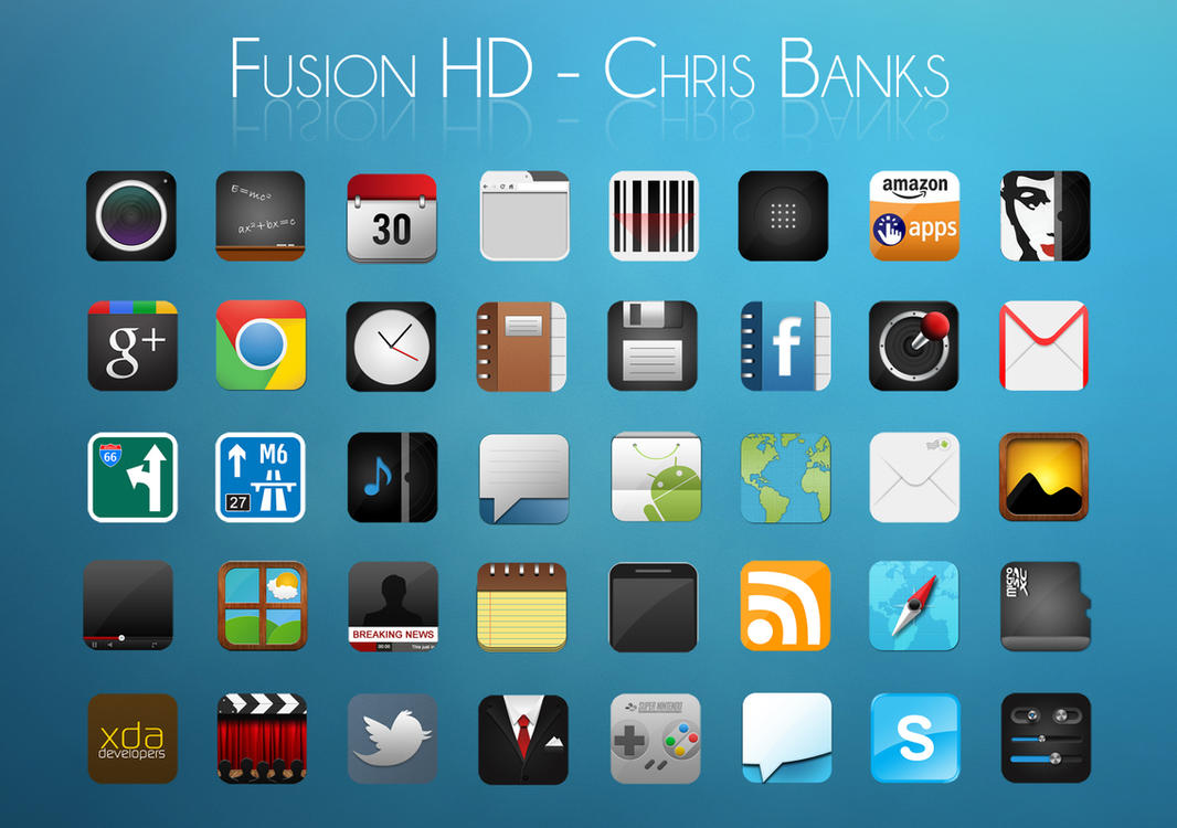 Fusion HD by chrisbanks2