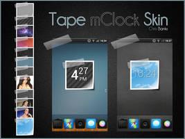 Tape mClock Skin by chrisbanks2
