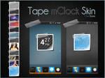 Tape mClock Skin