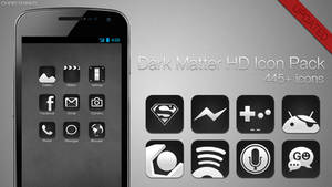 Dark Matter HD - Icons