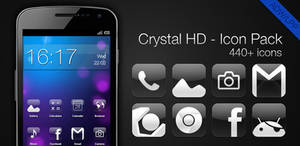 Crystal HD - Icon Pack