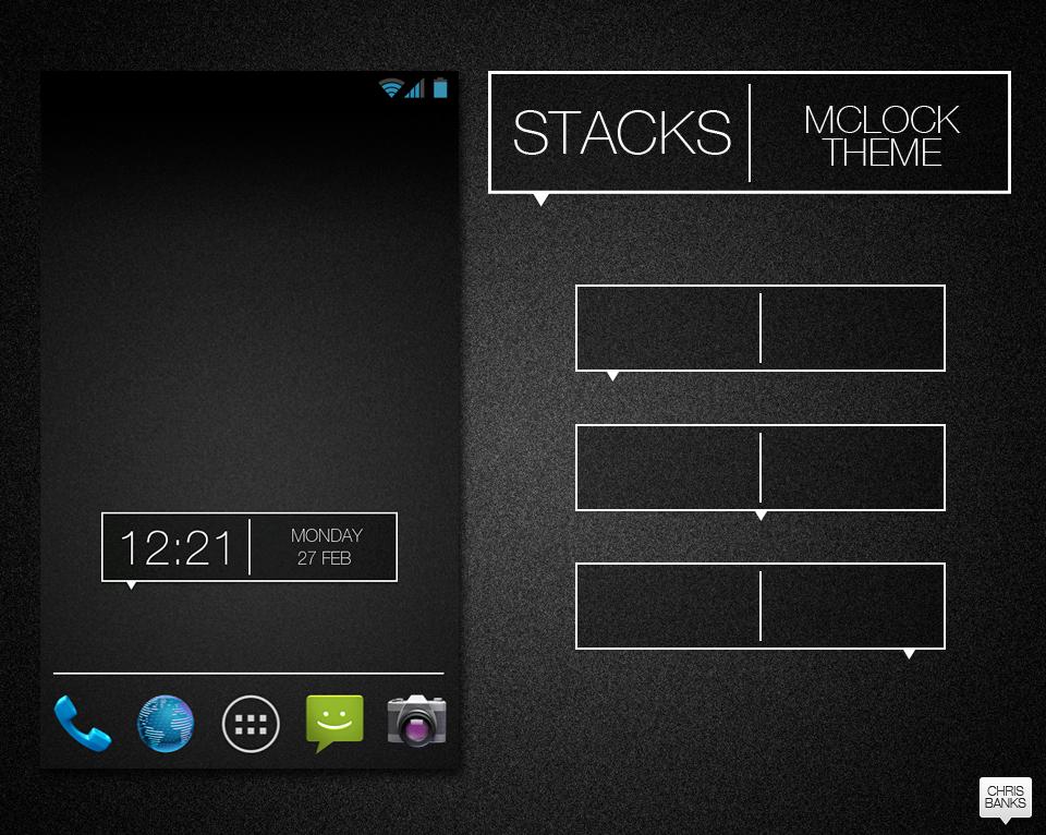Stacks mClock theme by chrisbanks2