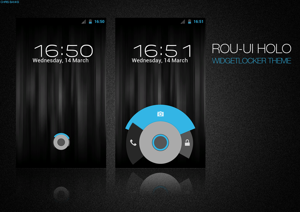 ROU-UI Holo Widgetlocker Theme by chrisbanks2