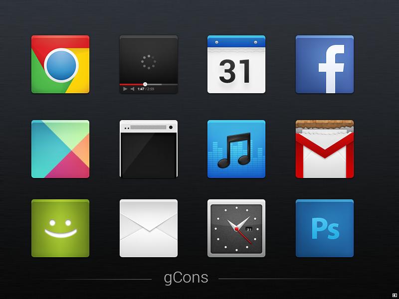 gCons - Icon Set