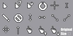 Pixel Lua Light Cursors