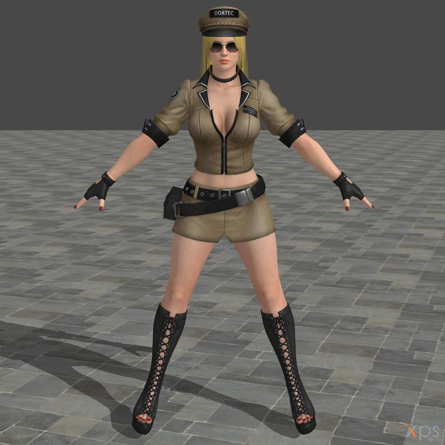 DOA5U Helena Costume 6 (police) by zareef