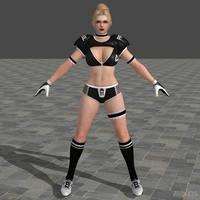 DOA5U Rachel Sports costume (Updated) by zareef