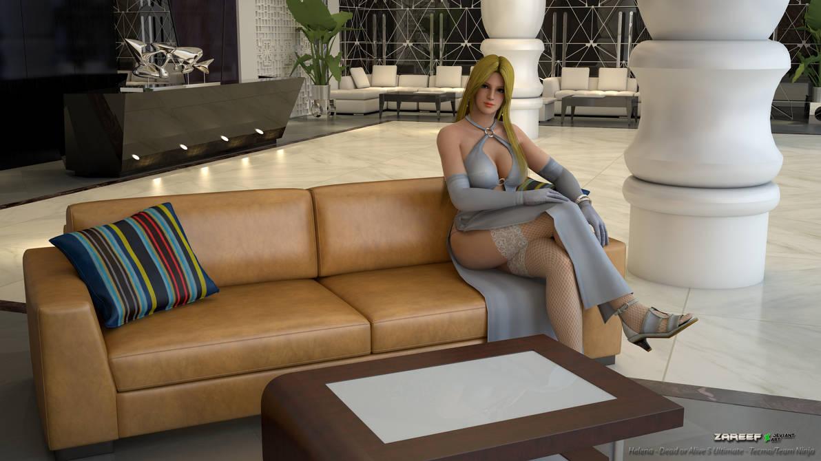 Helena white dress render 1 - No glasses (UPDATED)
