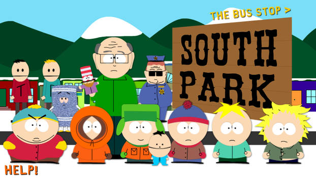 South Park Interactive by fartoons