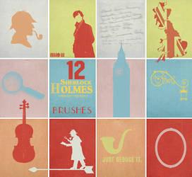 Sherlock Holmes Brushes by NYVelvet