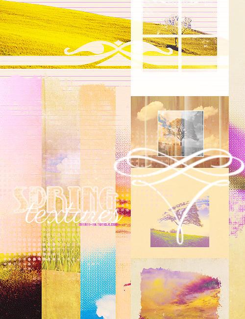 Spring Textures Set 6 by NYVelvet