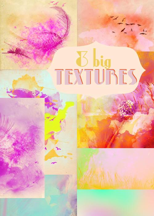 Watercolor Textures by NYVelvet