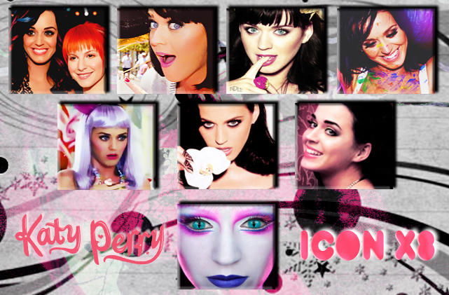 Katy Perry Icons pack by nataschamyeditions
