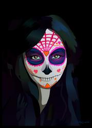 Katie Alves - Sugar Skull