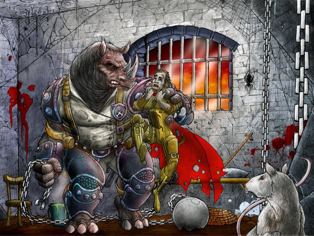 Rhino Jailer in collaboration with George Sakkas by MalDuDepart