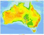 DOWNLOAD: Australia Physical Map IWM2500000RP
