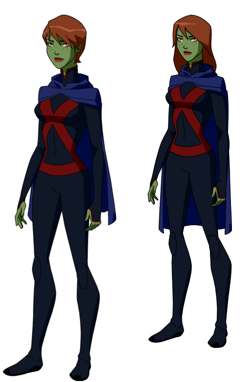 M'gann M'orzz - Miss Martian by Riviellan on DeviantArt