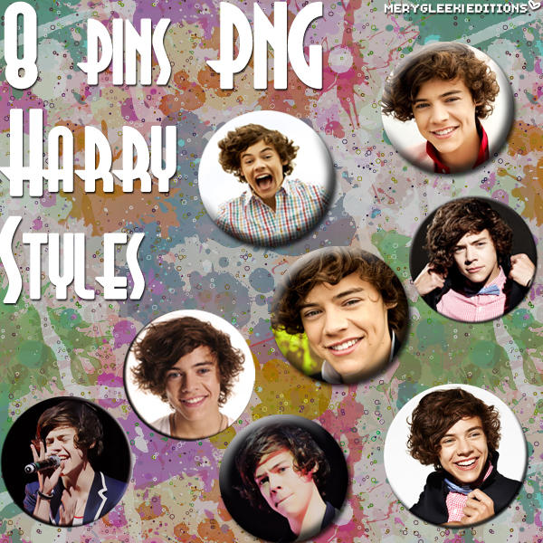 Pins: Harry Styles by MerygLeek