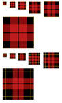 Scots Plaid Patterns .psd