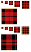 Scots Plaid GIMP Patterns .pat