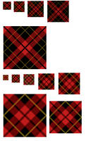 Oblique Scots Plaid GIMP .pat