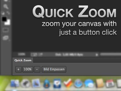 Quick Zoom (Photoshop Panel for CS6)